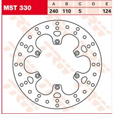 TRW MST disque de frein fixe MST330