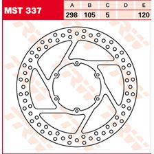 TRW MST disque de frein fixe MST337