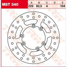 TRW MST disque de frein fixe MST340