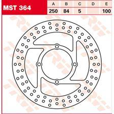 TRW MST vaste remschijf MST364
