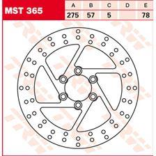TRW MST vaste remschijf MST365