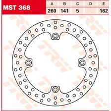 TRW MST vaste remschijf MST368