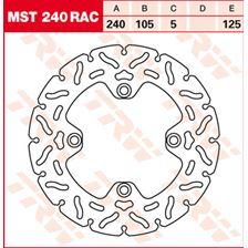 TRW MST disque fixe avec RAC design MST240RAC