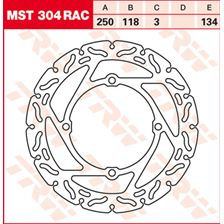 TRW MST disque fixe avec RAC design MST304RAC