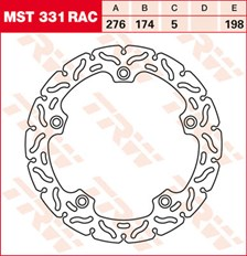 TRW Disque de frein MST331RAC