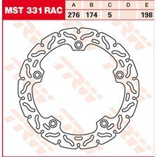 TRW MST vaste remschijf RAC design MST331RAC