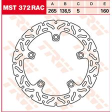 TRW MST disque fixe avec RAC design MST372RAC