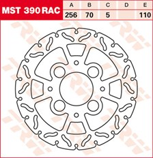 TRW Disque de frein MST390RAC
