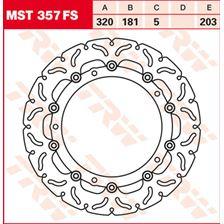 TRW FS disque de frein flottant MST357FS