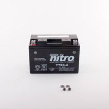 Gesloten batterij onderhoudsvrij YT9B-4