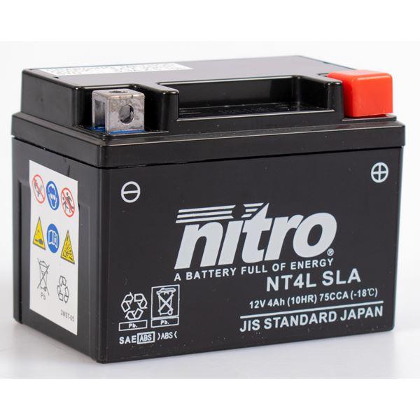 NITRO Gesloten batterij onderhoudsvrij YTC4L-BS