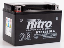 NITRO Batterie fermée sans entretien YTZ12S