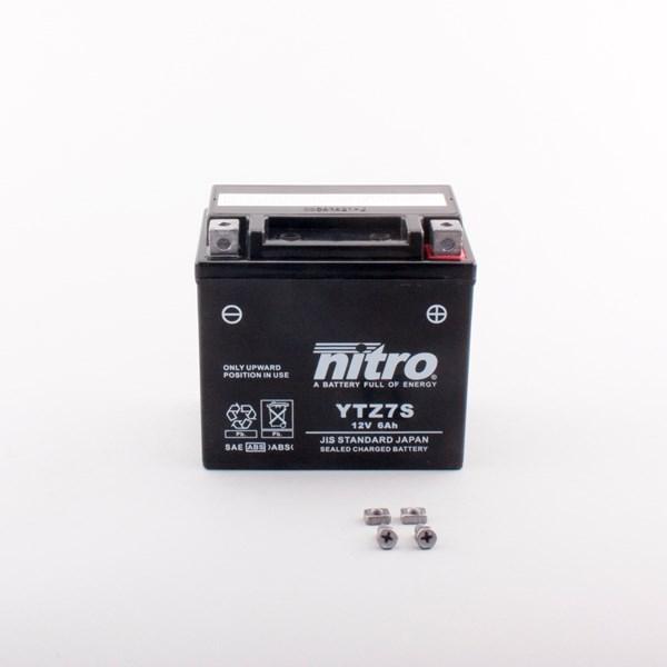 NITRO Gesloten batterij onderhoudsvrij YTZ7S