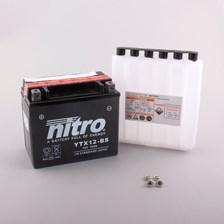 NITRO Batterie sans entretien YTX12-BS