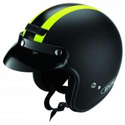 IXS : HX 105 - Mat Zwart-Neon Geel