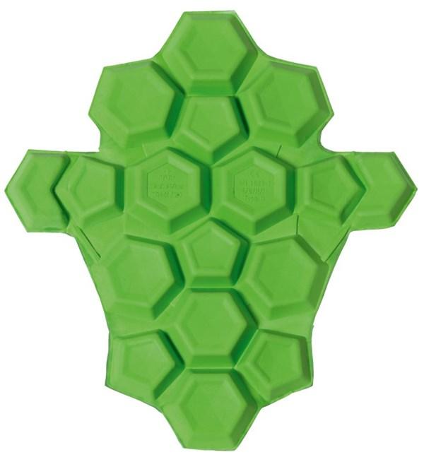 SAS-TEC Quattrotempi heupprotectorset Groen