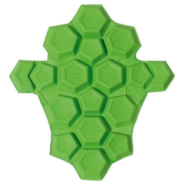 SAS-TEC Paire de protections hanche/côte Quattrotempi Vert