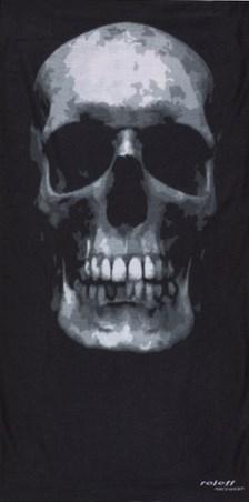 ROLEFF TUBULAR SCARF Big Skull