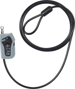 ABUS : 205/200 Combiloop black - 5 mm / 185 cm