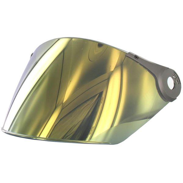LS2 Vizier OF-MHR-44 Goudkleurig spiegelvizier
