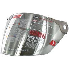 LS2 Vizier OF-MHR-44 Zilver spiegelvizier