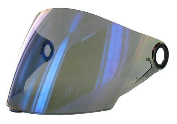 LS2 Visière OF-MHR-47 Visière bleu miroitant
