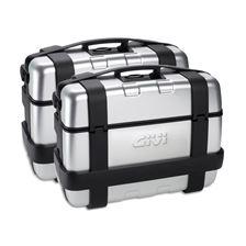 GIVI TRK33 Trekker set valises cache aluminium - 2x 33 litres