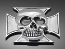 HIGHWAY HAWK Emblems 'Maltese skull'