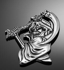 HIGHWAY HAWK Emblems 'Grim reaper' large
