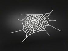 Custom bike art decals Spiderweb L+R