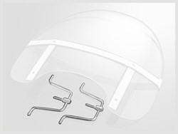 HIGHWAY HAWK : Bevestigingskit windshield USA-style - P04-1610