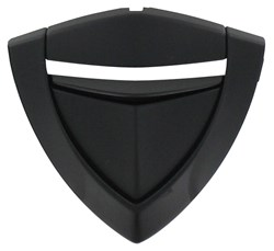 SHARK : Evoline 3 kit ventilation mentonnière - KMA noir mat métaliser