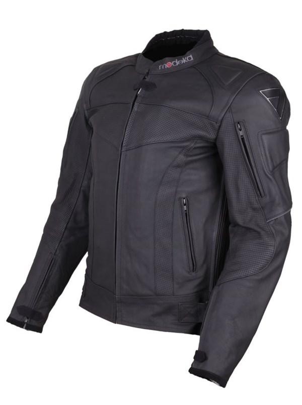 MODEKA Hawking Jacket Zwart Heren Lang