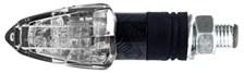 Tinny (per paar) Carbon met transparante lens