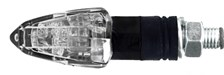 CHAFT Tinny (par paire) Noir avec lentille transparente