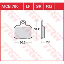 TRW SV/SH Remblokken MCB700SH