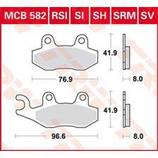 TRW SV/SH Remblokken MCB582SH