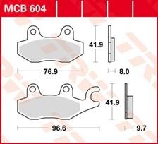 TRW Plaquettes de frein organique MCB604