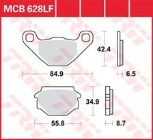 TRW Plaquettes de frein organique MCB628