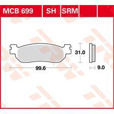 TRW SRM remblokken MCB699SRM
