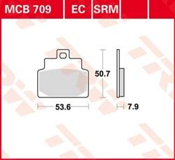 TRW remblokken standaard