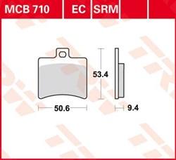 TRW Plaquettes de frein organique EC