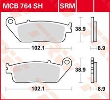 TRW Plaquettes de frein métal fritté SRM MCB764SRM