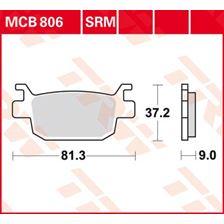 TRW SRM remblokken MCB806SRM