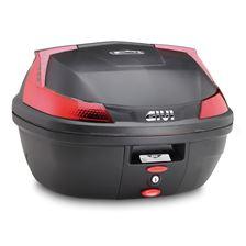 GIVI B47 Blade top case reflecteurs rouges, cache noir
