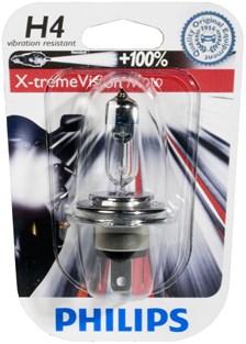 PHILIPS H4 Xtreme vision moto