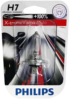 PHILIPS H7 Xtreme vision moto