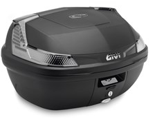 GIVI B47 Blade top case reflecteurs fumés, cahce noir