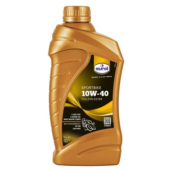 EUROL Sportbike 10W-40 Fullsyn  1 litre 10W-40