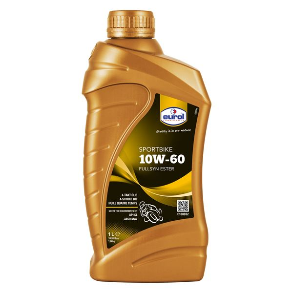 EUROL Sportbike Fullysyn 10W-60 1 liter 10W-60